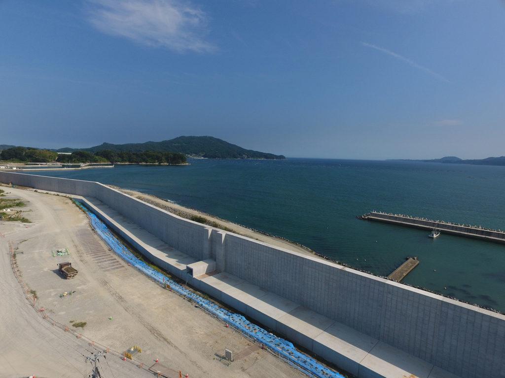 脇之沢漁港海岸災害復旧工事